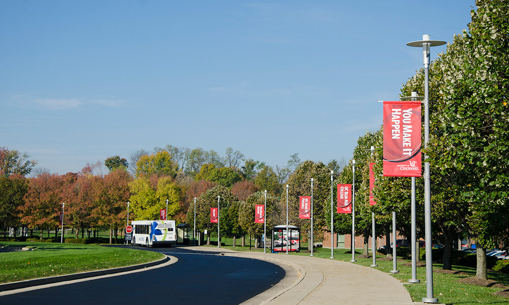 UCBA campus drive