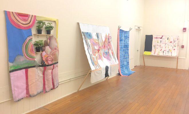 artwork shown in UC Blue Ash gallery