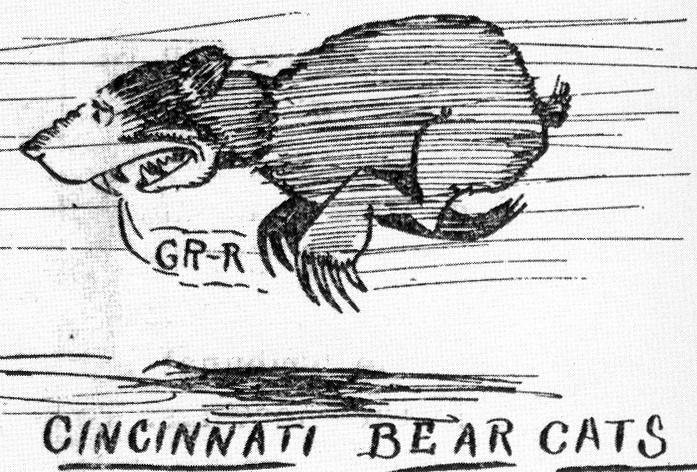 sketch of a bearcat
